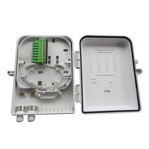 Outdoor Wall Mount Optical Distribution Box